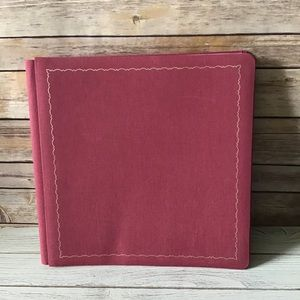 12x12 Westrim Album Red with Pages